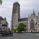 Catedral y torre de San Rumoldo (Malinas, Bélgica)