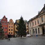 Plaza Mayor y Casa de la Bolsa (Estocolmo, Suecia)