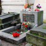 París. Tumba de Jim Morrison, Cimetière du Père-Lachaise