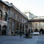 Milán. Plaza de los Mercaderes