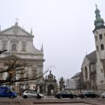 Cracovia. Plaza de Santa María Magdalena