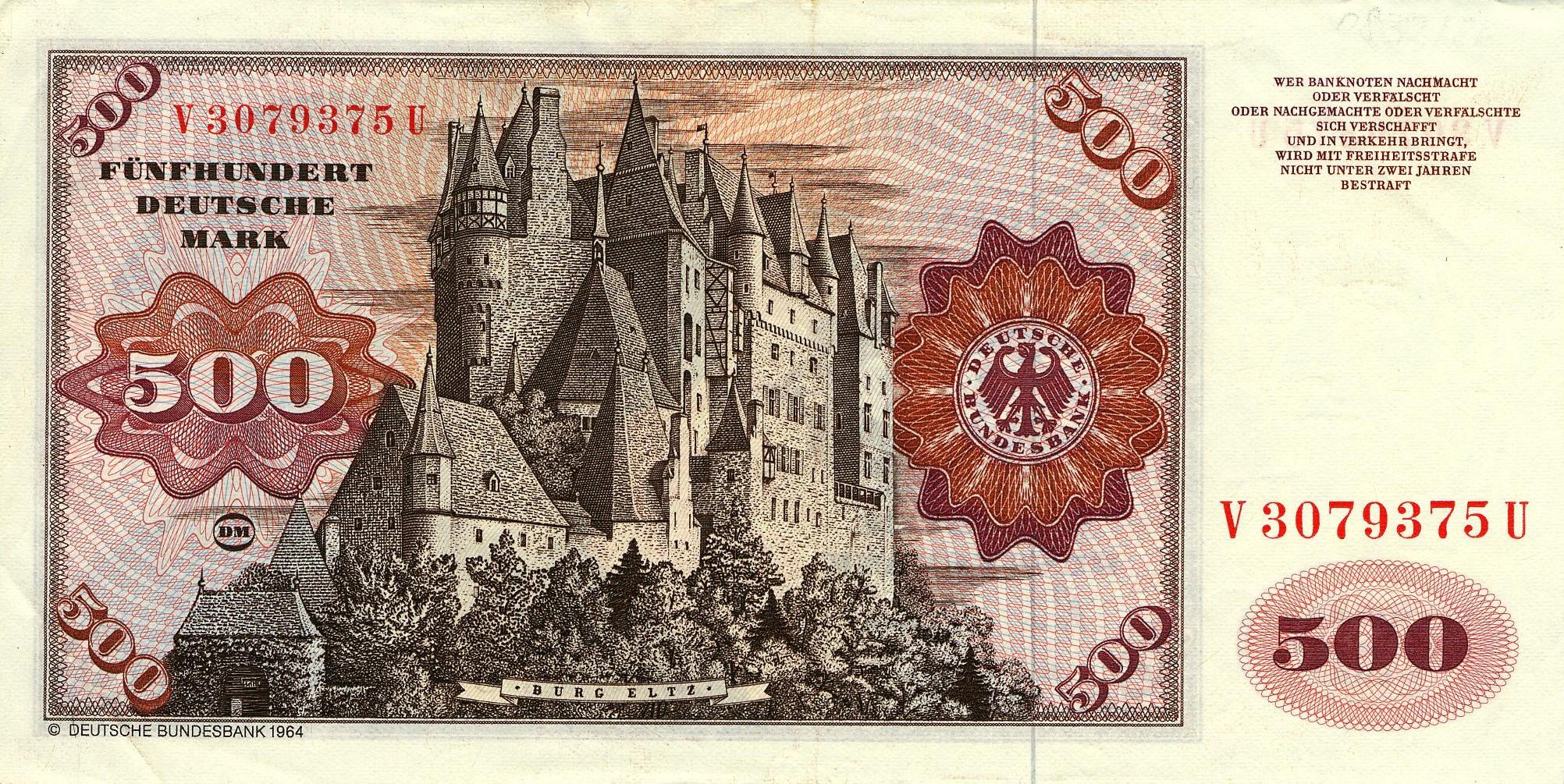 500 Marcos Alemanes