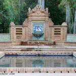 Sevilla. Glorieta de los Hermanos Álvarez Quintero