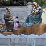 Tournai. Monumento a Rogier van der Weyden