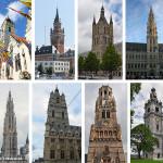 Recorrido por los Campanarios de Bélgica y Francia que son Patrimonio de la Humanidad